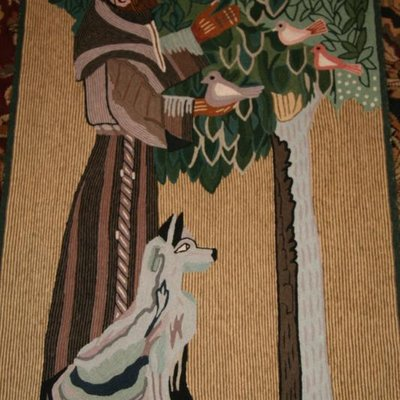 gcrow11 St Francis & the Wolf Tapestry