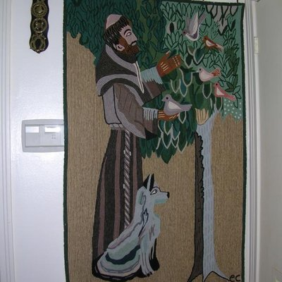 Saint Francis + The Wolf Tapestry