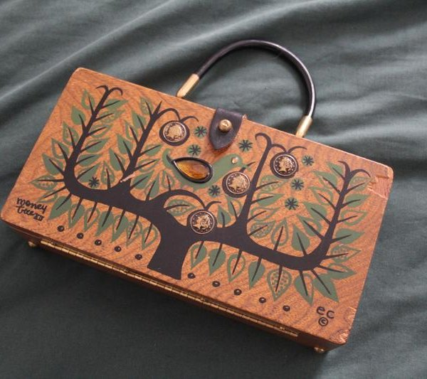 Money Tree XII Money Tree Box purse by Enid Collins